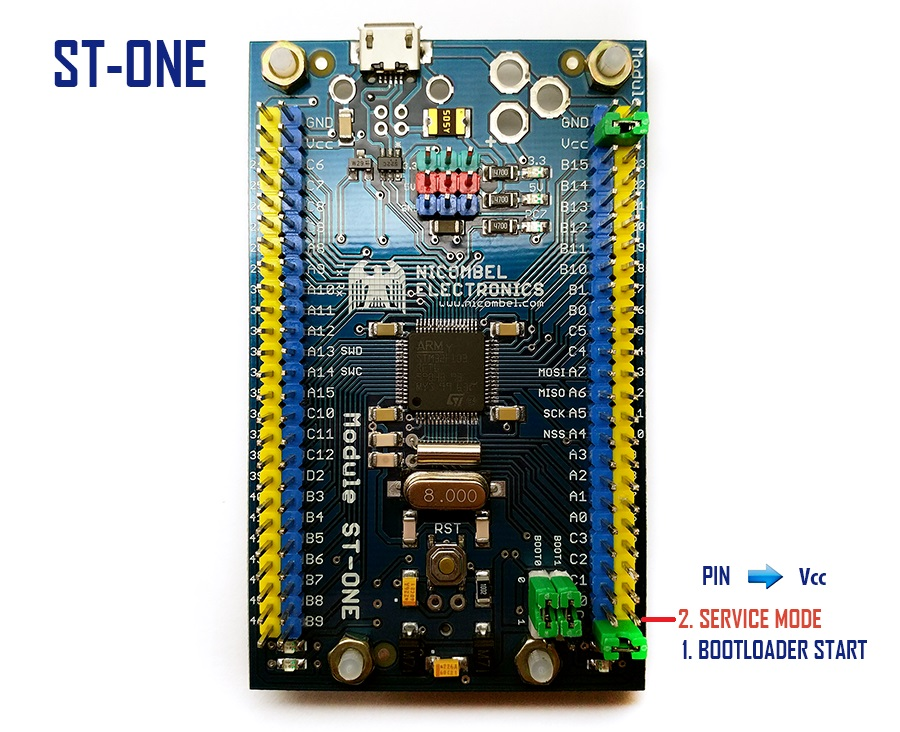 JACK - powerful and unique mechanism of ST-ONE bootloader